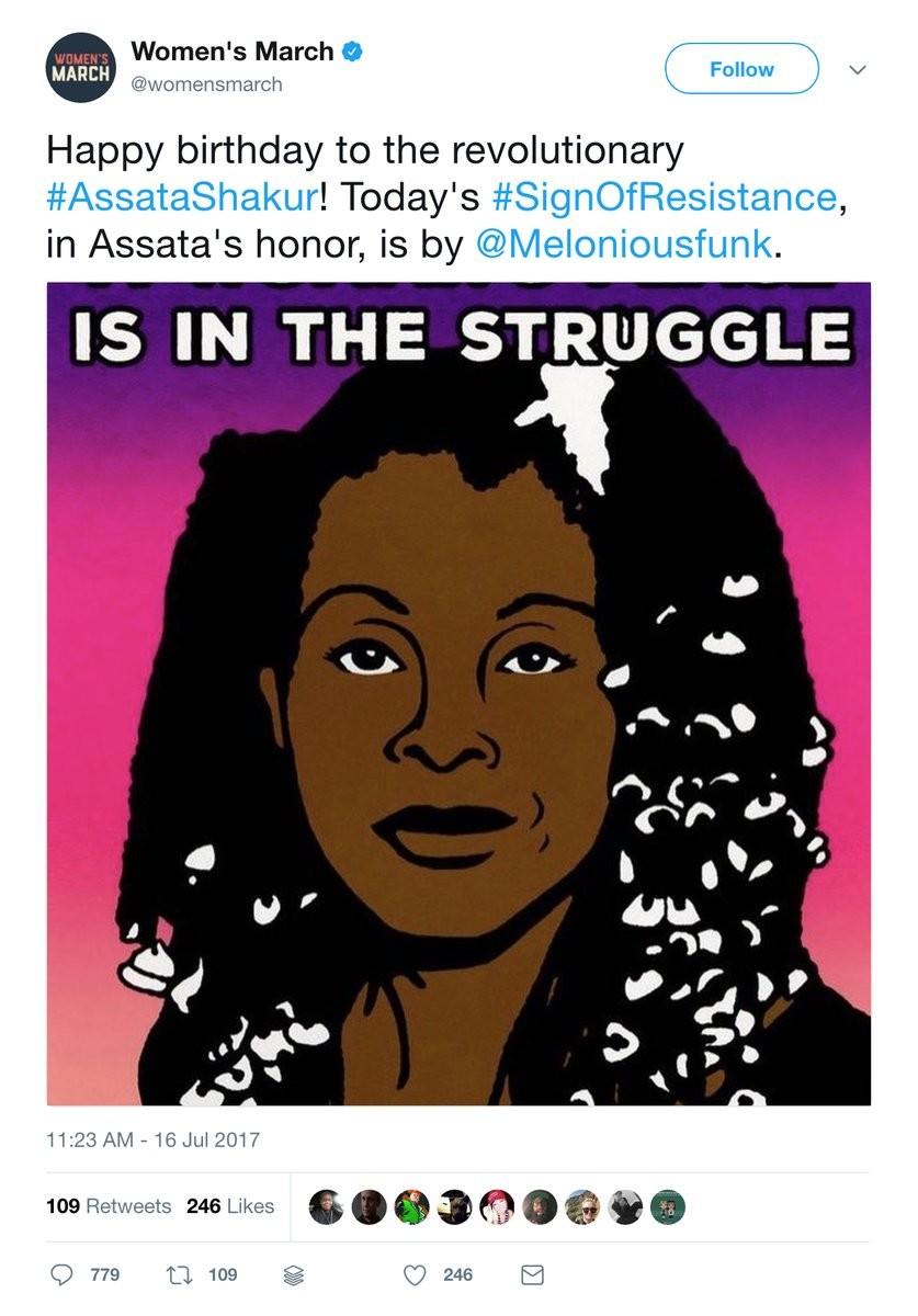 Celebrating A Terrorist. join list: PoliticsAndStuff (564 subs)Mention History. Women' s March ' Ahb' rlh' tajiri' Nola' i', Happy birthday to the revolutionary Celebrating A Terrorist join list: PoliticsAndStuff (564 subs)Mention History Women' s March ' Ahb' rlh' tajiri' Nola' i' Happy birthday to the revolutionary