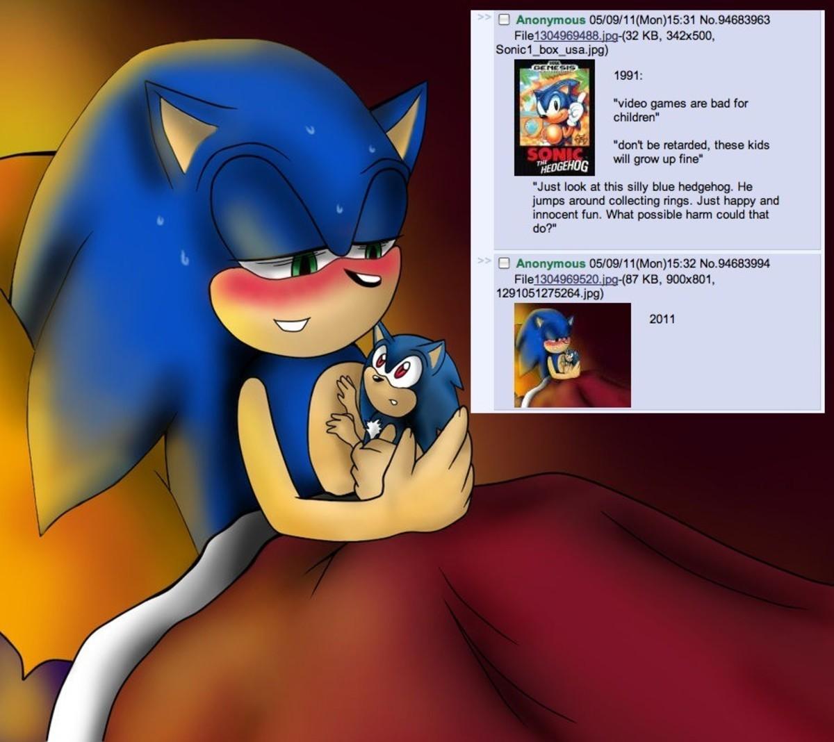 Sonic the hedgehog porn pics fucking films