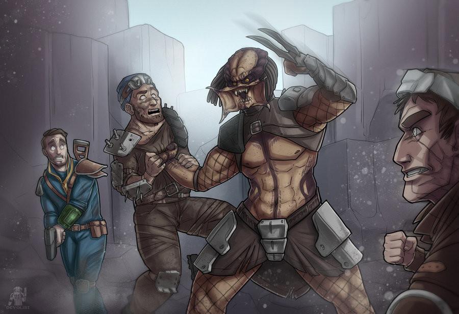 One ugly Motherfu-. .. Deathclaw Vs Predator! One ugly Motherfu- Deathclaw Vs Predator!