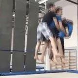 4 man backflip