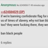 Ban oppressive blacks