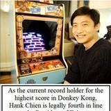 Donkey Kong record holder