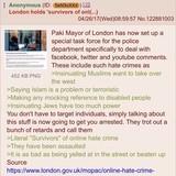 "London Mayor defines ""hate crime"""