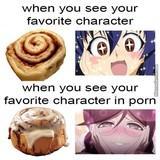 Mmm, cinnamon bun