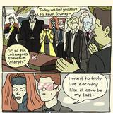 Morph's funeral
