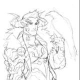 Fantasy AU Demon King Jack