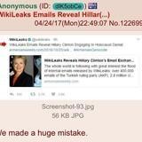 Anon has regrets