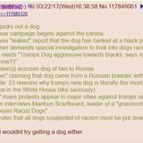 Trump gets a dog