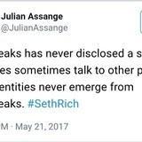 Assange Tweet Bomb