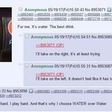 Favorite kind of water?