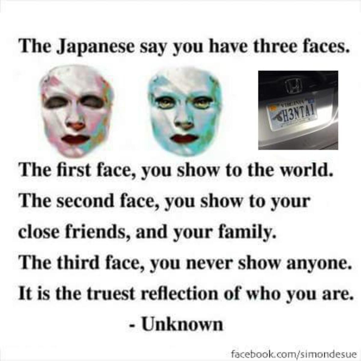3 face. . 3 face
