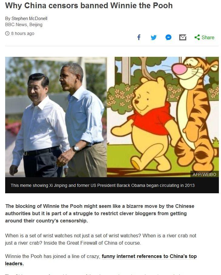 China Meme War. Secret China meme war??? www.bbc.com/news/blogs-china-blog-406..... Heh, tigger. China Meme War Secret meme war??? www bbc com/news/blogs-china-blog-406 Heh tigger