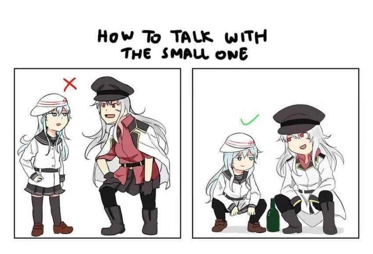 Cyka Blyat. . Tilt TALK THE SHOW 0935. Fixed it. Anime manga Kancolle Cute Hibiki russia