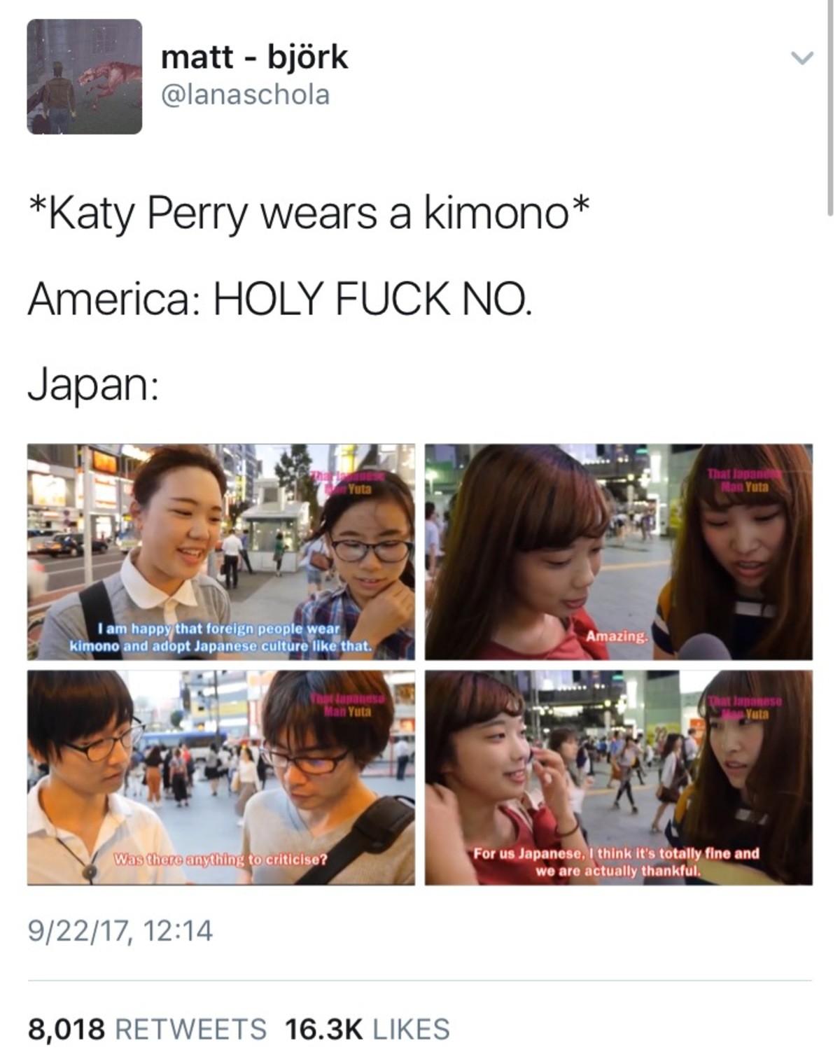 Gasumpoome Ziduscu Lurmakl. >proximal. matt - sniirk v Katy Perry wears a kimono America: HOLY FUCK NO. Japan: iai am foreign I' Tish himdon and culture Him  Gasumpoome Ziduscu Lurmakl >proximal matt - sniirk v Katy Perry wears a kimono America: HOLY FUCK NO Japan: iai am foreign I' Tish himdon and culture Him