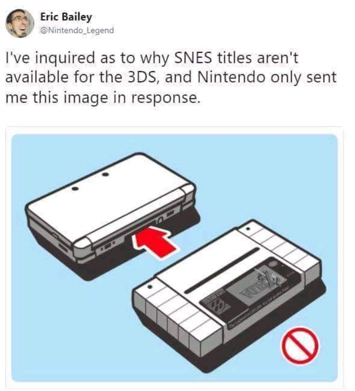 Good job Nintendo. .. valid Good job Nintendo valid