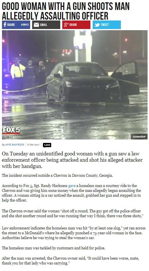 Good Woman with a Gun. . GOOD WOMAN WITH A GUN SHEETS MAN ASSAULTING OFFICER On Tuesday an unidentified good woman with a gun saw a law enforcement officer bein Good Woman with a Gun GOOD WOMAN WITH A GUN SHEETS MAN ASSAULTING OFFICER On Tuesday an unidentified good woman gun saw law enforcement officer bein