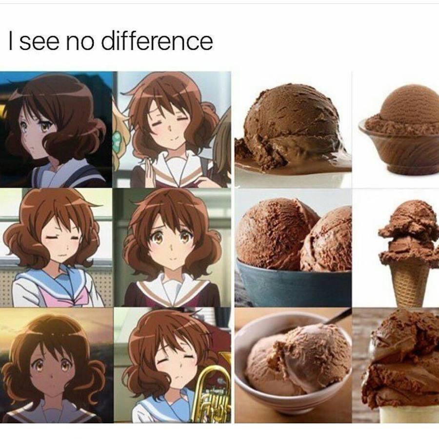 Kumiko. .. Want to lick both obvious joke but i made it first Anime Girl Cute Waifu