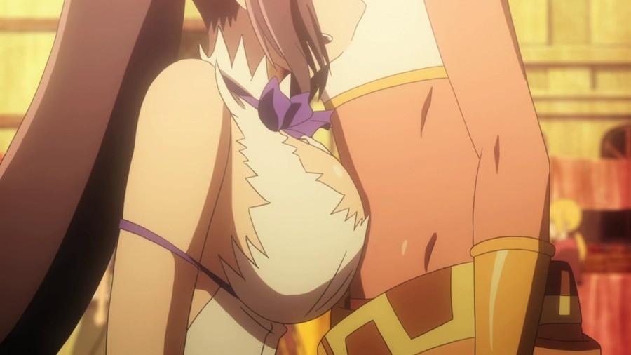Overwhelming. Dungeon ni Deai wo Motomeru no wa Machigatteiru Darou ka Gaiden: Sword Oratoria.. ye but she aint chocolate Danmachi Anime