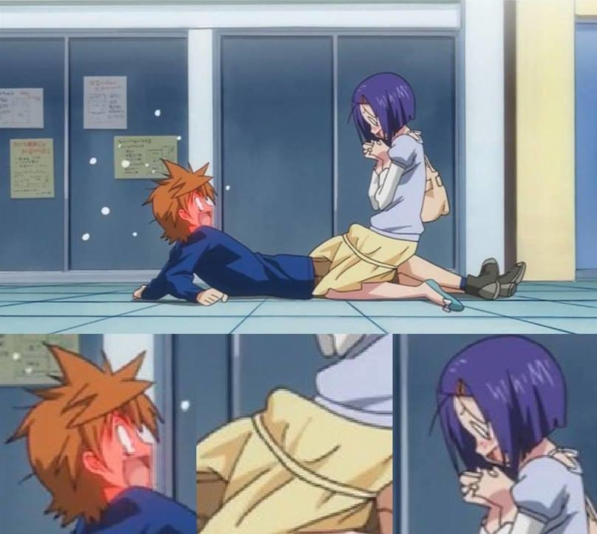 OWO Whats This?. . Anime manga Love ru Futa Lewd Trap