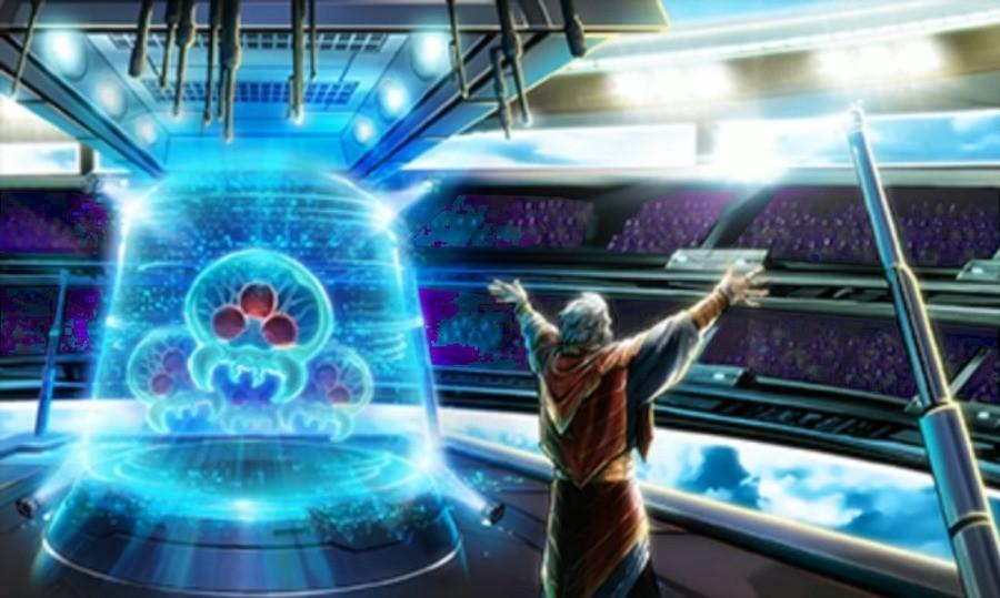 Samus Returns. .. What is Moses doing with those Metroids? wololo Metroid samus returns MEMES irrelevant