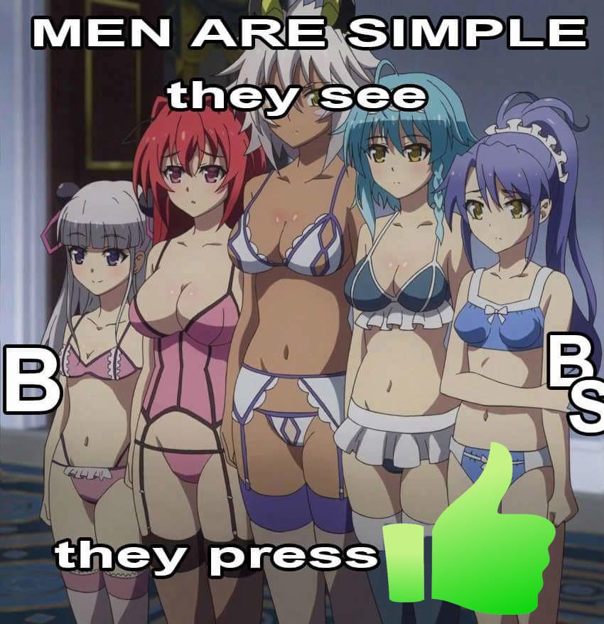 Simple.   Thx mouse my per Anime manga Maou Boobs thumb Lewd