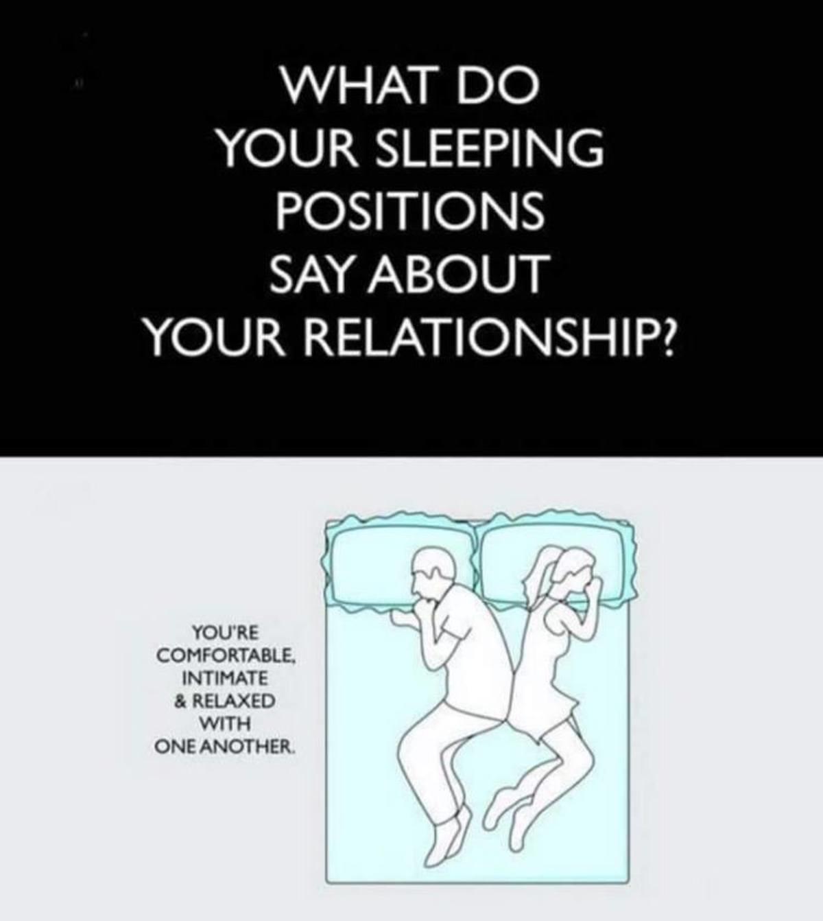 Sleeping Positions. . Sleeping Positions