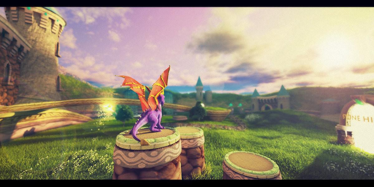 some day.... .. you skylanders I miss you Spyro.... i hope