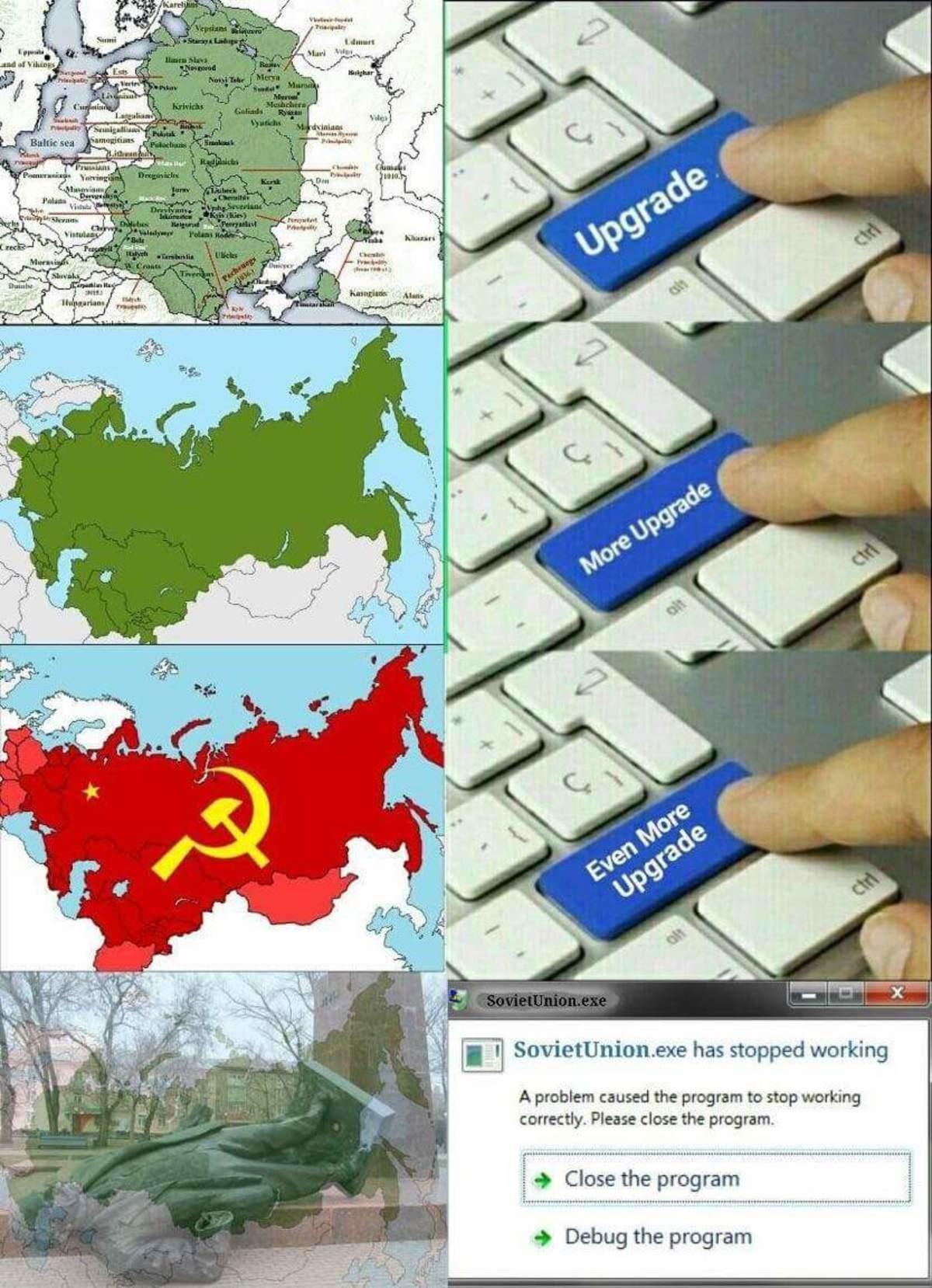 SovietUnion.exe. .. Looks like his computer is stalin' SovietUnion exe Looks like his computer is stalin'