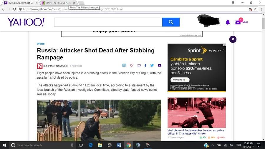 Stabbing spree in Russia.. Don't poke the bear.. Ru shia Attacker Shot De I FKNN: The F) News Network C) l CO https:// / news/ russians; t IKEA aii LT. worm Ito Stabbing spree in Russia Don't poke the bear Ru shia Attacker Shot De I FKNN: The F) News Network C) l CO https:// / news/ russians; t IKEA aii LT worm Ito