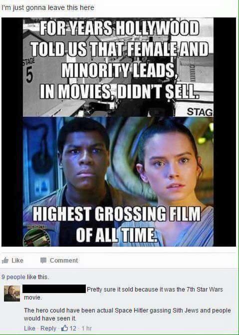 Star Wars. .. >Sith Jews lmao Star Wars >Sith Jews lmao