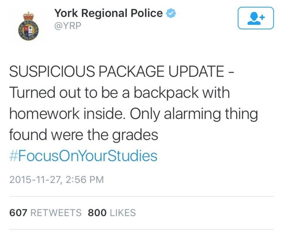 Suspicious package. . Suspicious package
