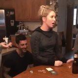 Shocking card trick