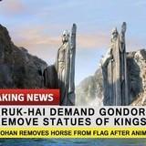 Denethor made no statement so far